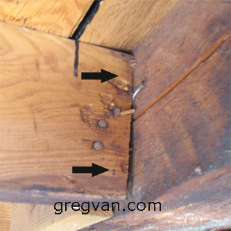 Evenly Space Roof Rafter Nails