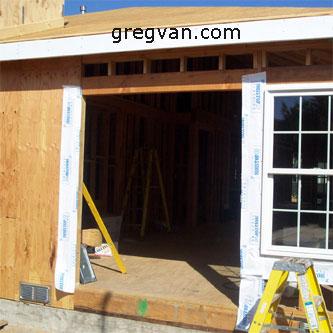 sliding glass door opening
