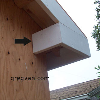 Stucco Space Between Fascia And Plywood